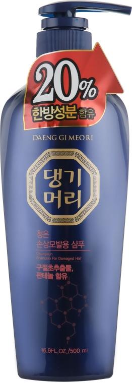 Тонизирующий шампунь для повреждённых волос - Daeng Gi Meo Ri ChungEun Shampoo For Damaged Hair