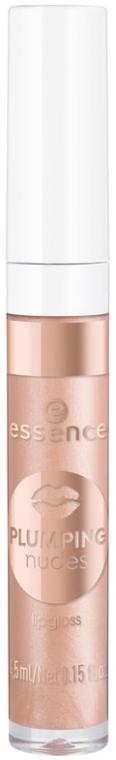 Блеск для губ - Essence Plumping Nudes Lipgloss
