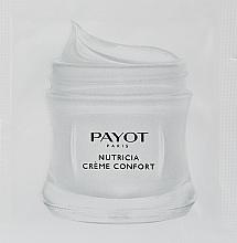 Духи, Парфюмерия, косметика Питательный и восстанавливающий крем для сухой кожи - Payot Nutricia Creme Confort Nourishing & Restructuring Cream (пробник)