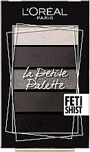Духи, Парфюмерия, косметика Палетка теней для век - L'Oreal Paris La Petite Palette Fetishist Eyeshadow
