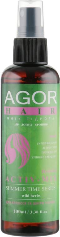 """Тоник для волос """"Гидролат Activ-Mix"""" - Agor Summer Time Hair Tonic"""
