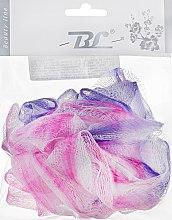 Духи, Парфюмерия, косметика Мочалка банная, синтетическая, фиолетово-малиновая - Beauty Line