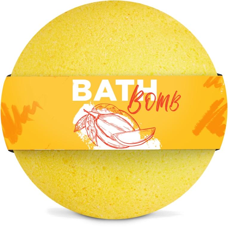 "Бомбочка для ванны ""Mango"" - SHAKYLAB Bath Bomb"