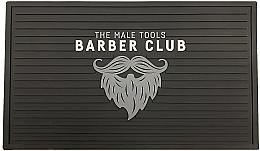 Духи, Парфюмерия, косметика Резиновый коврик для парикмахерских инструментов - Novon Barber Matte Station Black/White