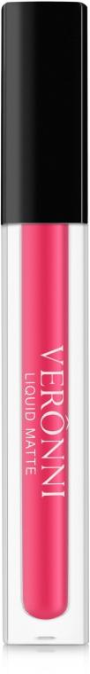 Матовая водостойкая помада для губ - Veronni Liquid Matte Lipstick