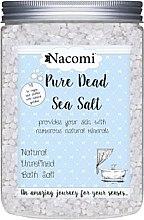 Духи, Парфюмерия, косметика Соль Мертвого моря для ванны - Nacomi Natural Dead Sea Salt Bath