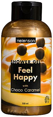 "Гель для душа ""Шоколадная карамель"" - Mediterraneum Helenson Shower Gel Feel Happy With Choco Caramel"