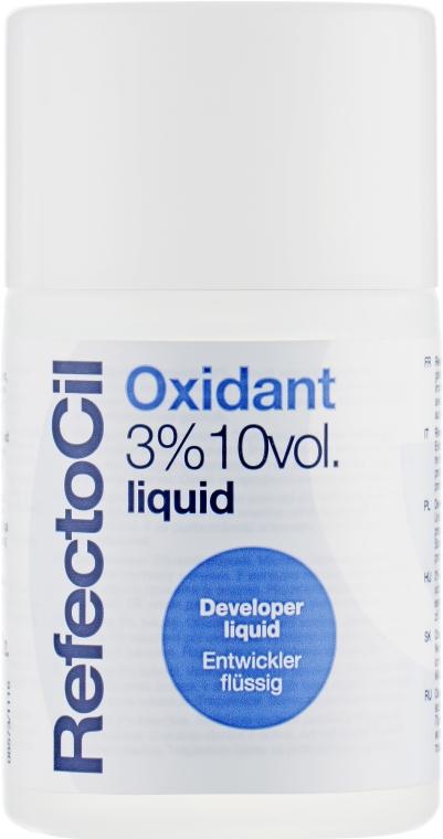 Окислитель 3% жидкий - RefectoCil Oxidant