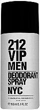 Духи, Парфюмерия, косметика Carolina Herrera 212 VIP Men - Дезодорант