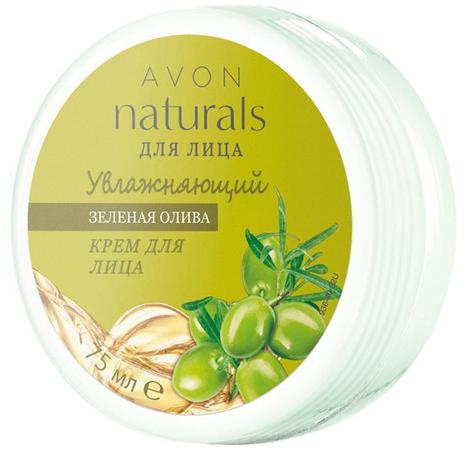 """Увлажняющий крем для лица """"Зеленая олива"""" - Avon Naturals"""