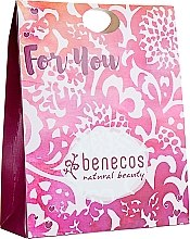 "Духи, Парфюмерия, косметика Набор ""Гранат-роза"" - Benecos Natural Beauty For You (sh/gel/200ml + b/lotion/150ml + hand/cr/75ml)"