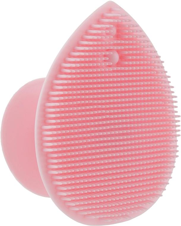 Массажер для умывания и очищения кожи лица, розовый - Omkara