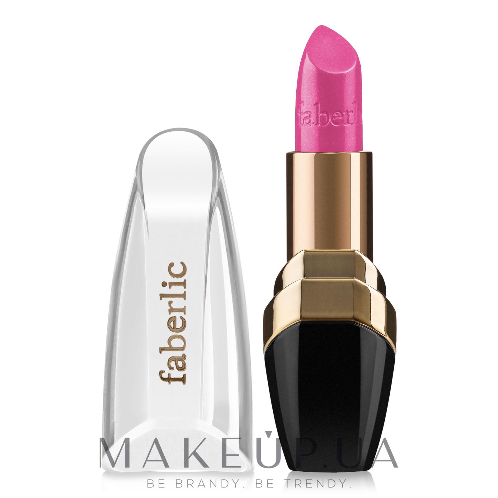 """Увлажняющая губная помада """"Увлажнение в цвете"""" - Faberlic Lipstick — фото 4617 - Неоновый розовый"""
