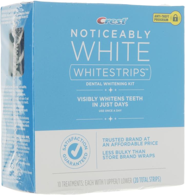 Отбеливающие полоски для зубов - Crest Noticeably White Whitestrips Dental Whitening Kit