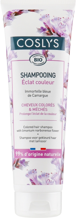 Шампунь для окрашенных волос с морской лавандой - Coslys Shampoo for Colored Hair with Sea Lavender