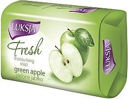 "Духи, Парфюмерия, косметика Мыло ""Зеленое яблоко"" - Luksja Fresh Green Apple Moisturizing Soap"