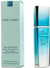 Моделирующая сыворотка - Estee Lauder New Dimension Shape + Fill Expert Serum — фото N2