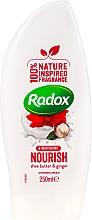 Духи, Парфюмерия, косметика Крем-гель для душа - Radox Moisturising Nourish Shea Butter & Ginger Shower Cream