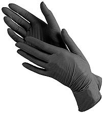 Духи, Парфюмерия, косметика Перчатки нитриловые черные, размер M - PRO Service Standard