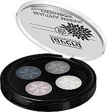 Духи, Парфюмерия, косметика Тени для век - Lavera Beautiful Mineral Eyeshadow Quattro
