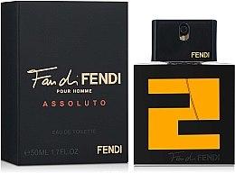 Духи, Парфюмерия, косметика Fendi Fan di Fendi Pour Homme Assoluto - Туалетная вода