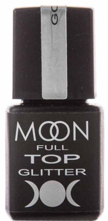 Топ для гель-лака с глиттерными частичками - Moon Full Top Glitter
