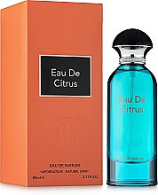 Духи, Парфюмерия, косметика Fragrance World Eau De Citrus - Парфюмированная вода