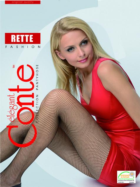 """Колготки """"Rette Max"""", nero - Conte"""