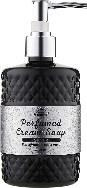 Парфюмированное крем-мыло - Energy of Vitamins Perfumed Silver