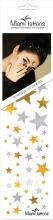 Духи, Парфюмерия, косметика Флеш-тату переводные для волос и тела - Miami Tattoos Stars