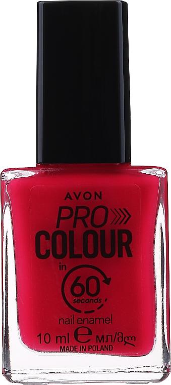 "Лак для ногтей ""60 секунд"" - Avon Pro Colour In 60 Seconds Nail Enamel"