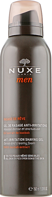 Гель для бритья - Nuxe Men Anti-Irritation Shaving Gel