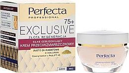 Духи, Парфюмерия, косметика Восстанавливающий крем от морщин - Perfecta Exclusive Face Cream 75+