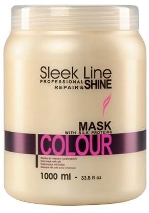 Маска для окрашенных волос - Stapiz Sleek Line Colour Mask