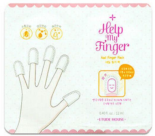 Маска для ногтей - Etude House Help My Finger Nail Finger Pack — фото N1