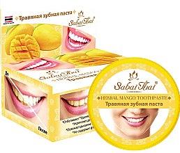 Духи, Парфюмерия, косметика Зубная паста с манго - Sabai Thai Herbal Mango Toothpaste