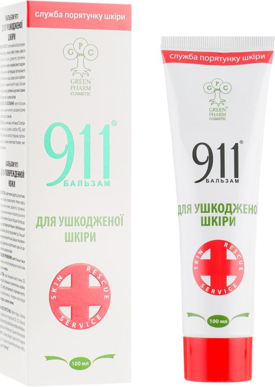 """Бальзам 911 """"Для поврежденной кожи"""" - Green Pharm Cosmetic"""