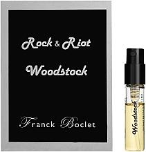 Духи, Парфюмерия, косметика Franck Boclet Woodstock - Духи (пробник)