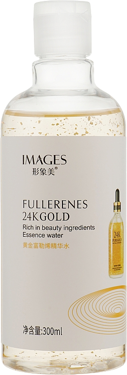 Омолаживающая эссенция для лица с фуллереном и золотом - Images Fullerenes 24K Gold
