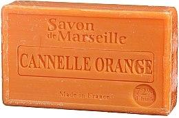 "Духи, Парфюмерия, косметика Мыло натуральное ""Апельсин и корица"" - Le Chatelard 1802 Soap Orange & Cinnamon"