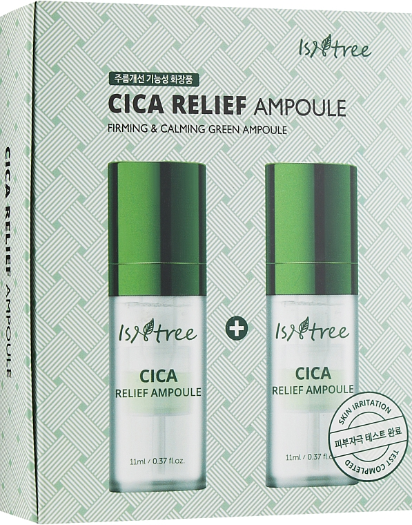 Восстанавливающая ампула - IsNtree Cica Relief Ampoule