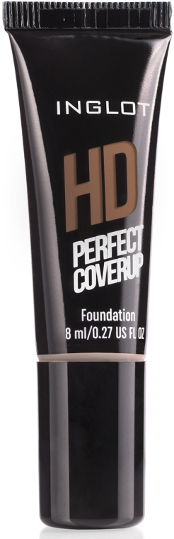 Тональный крем для лица, 8 мл - Inglot Freedom System HD Perfect Coverup Foundation