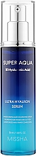 Духи, Парфюмерия, косметика Увлажняющая сыворотка для лица - Missha Super Aqua Ultra Hyalron Serum
