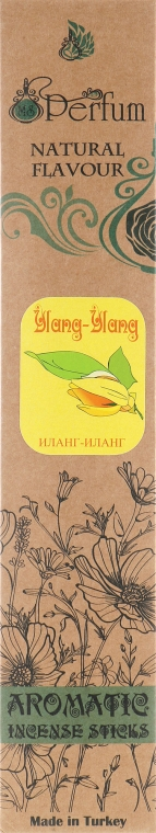 Аромапалочки с успокаивающим ароматом иланг-иланга - MSPerfum
