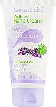 "Духи, Парфюмерия, косметика Крем для рук ""Лаванда"" - Herbacin Wellness Hand Cream Lavender"