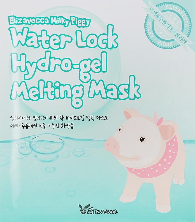 Маска для лица гидрогелевая - Elizavecca Face Care Milky Piggy Water Lock Hydrogel Melting Mask
