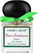 Духи, Парфюмерия, косметика Andre L'arom Lovely Flauers Fleurs Exotiques - Парфюмированная вода (тестер с крышечкой)