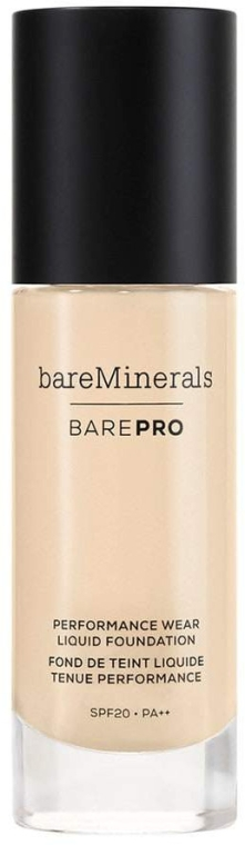 Тональная основа для лица - Bare Escentuals Bare Minerals BarePro Performance Wear Liquid Foundation SPF 20