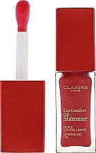 Парфумерія, косметика Мерехтлива олія-блиск для губ - Clarins Lip Comfort Oil Shimmer