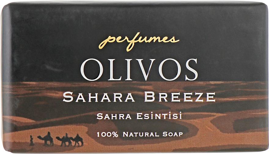 """Натуральное оливковое мыло """"Бриз Сахары"""" - Olivos Perfumes Sahara Breeze Soap"""